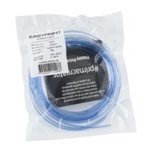 EasyPrint PETG Sample – 2.85mm – 50 g – Transparent Blue