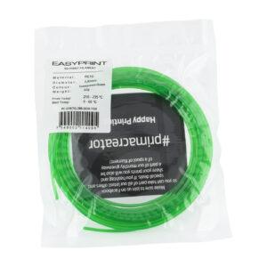 EasyPrint PETG Sample – 2.85mm – 50 g – Transparent Green