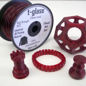 Taulman t-glase PETT – 1.75mm – 450g – Red