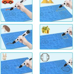 3D Pen Silicone Drawing Mat – 415 x 275 mm