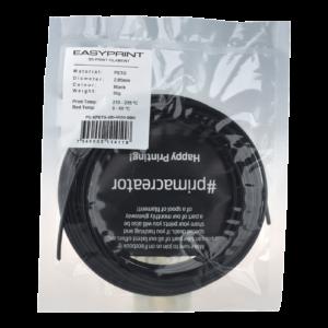 EasyPrint PETG Sample – 2.85mm – 50 g – Solid Black