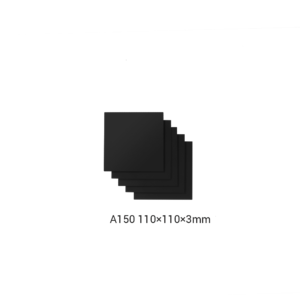 Frosted Acrylic Sheet for Snapmaker 2.0 / 110 x 110 x 3mm / 5-Pack