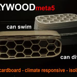 LayFilaments LAYWOODmeta5 Filament – 1.75mm – 250 g