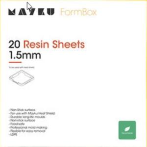 Mayku Resin Sheets (LDPE Sheets) 20 pack of 1.5mm