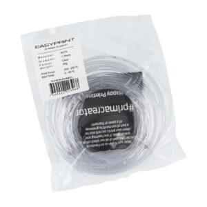 EasyPrint PETG Sample – 1.75mm – 50 g – Clear