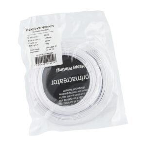 EasyPrint PETG Sample – 1.75mm – 50 g – Solid White