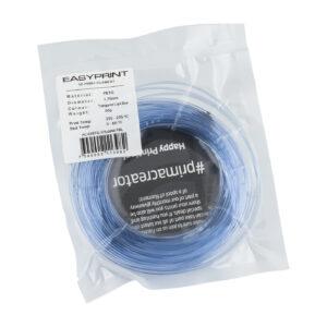 EasyPrint PETG Sample – 1.75mm – 50 g – Transparent Blue