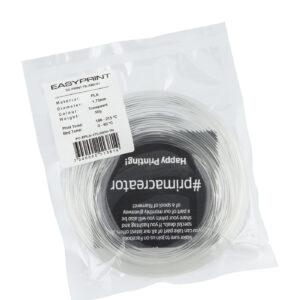 EasyPrint PLA Sample – 1.75mm – 50 g – Tranparent