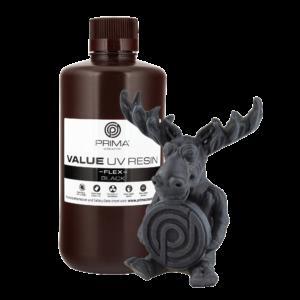 PrimaCreator Value Flex UV Resin – 1000 ml – Black