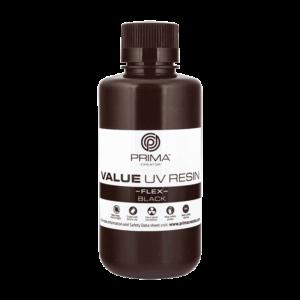 PrimaCreator Value Flex UV Resin – 500 ml – Black