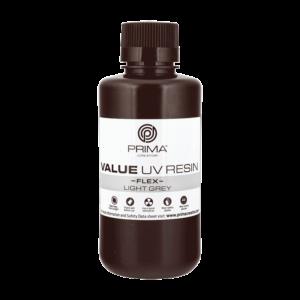 PrimaCreator Value Flex UV Resin – 500 ml – Light Grey