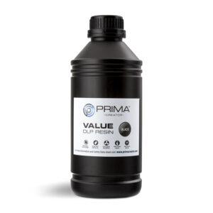 PrimaCreator Value UV / DLP Resin – 1000 ml – Black