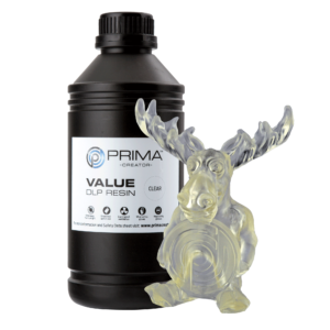 PrimaCreator Value UV / DLP Resin – 1000 ml – Clear