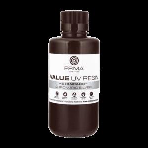 PrimaCreator Value UV / DLP Resin – 500 ml – Chromatic Silver