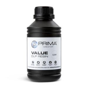 PrimaCreator Value UV / DLP Resin – 500 ml – Clear