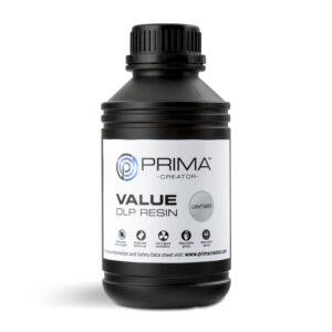 PrimaCreator Value UV / DLP Resin – 500 ml – Light Grey