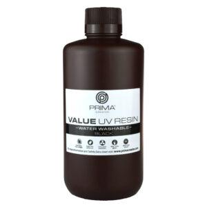 PrimaCreator Value Water Washable UV Resin – 1000 ml – Black