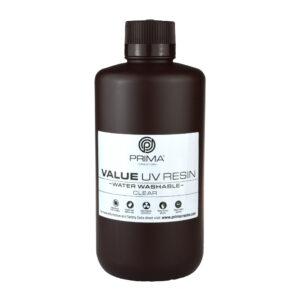 PrimaCreator Value Water Washable UV Resin – 1000 ml – Clear