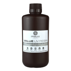 PrimaCreator Value Water Washable UV Resin – 1000 ml – Light Grey