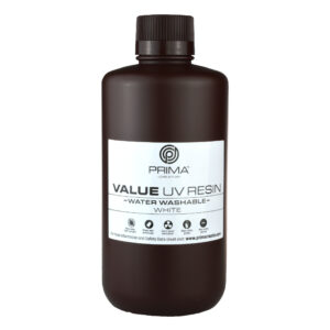 PrimaCreator Value Water Washable UV Resin – 1000 ml – White