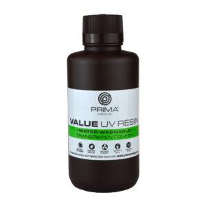 PrimaCreator Value Water Washable UV Resin – 500 ml – Transparent Green