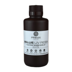 PrimaCreator Value Water Washable UV Resin – 500 ml – White