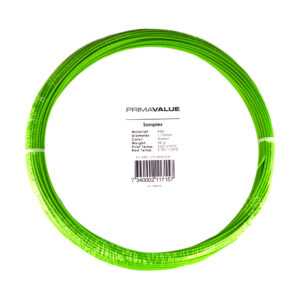 PrimaValue ABS – 1.75mm – 50 g spool – Green