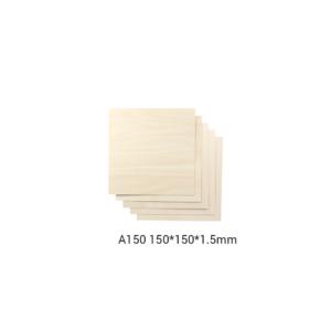 Snapmaker Basswood Sheet-A150 / 150x150x1,5mm / 5-pack