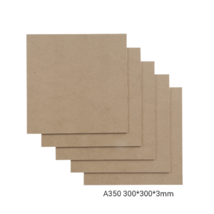 Snapmaker MDF Wood Sheet-A350 / 300x300x3mm / 5-pack