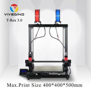 Vivedino Formbot T-Rex 3.0 – Dual Extruder Idex – 400x400x500mm