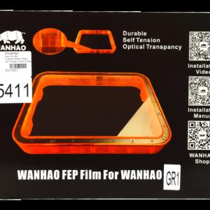 Wanhao GR1 – FEP Film 0.15mm*220mm*160mm