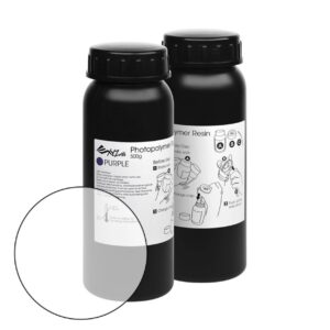 XYZprinting UV Resin – 2 x 500 ml Bottles – Clear (XYZ SuperFine)
