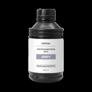 Zortrax UV Resin – Basic – 500ml – Grey
