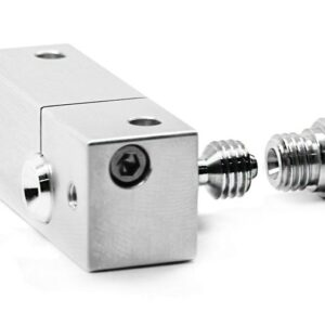 Micro Swiss All Metal Hotend with SLOTTED block for Wanhao i3 0.4mm