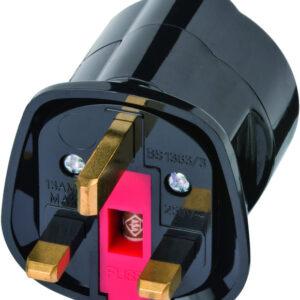 Brennenstuhl EU to UK Plug Adapter