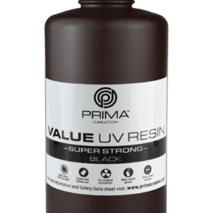 PrimaCreator Super Strong UV Resin – 1000 ml – Black
